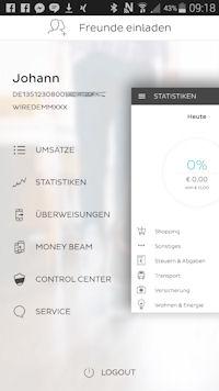 Number26 Banking-App