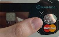 Number26 MasterCard
