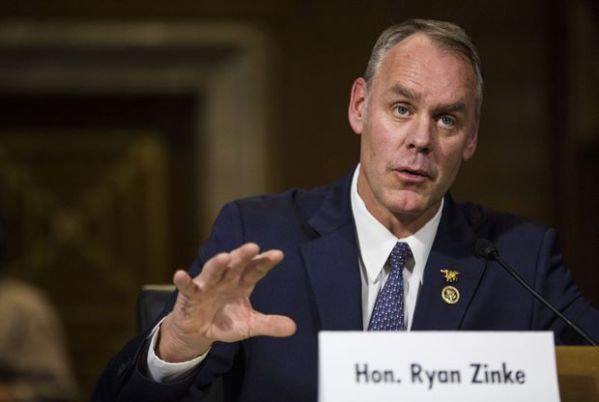 Justice investigating whether Ryan Zinke lied to inspector ...