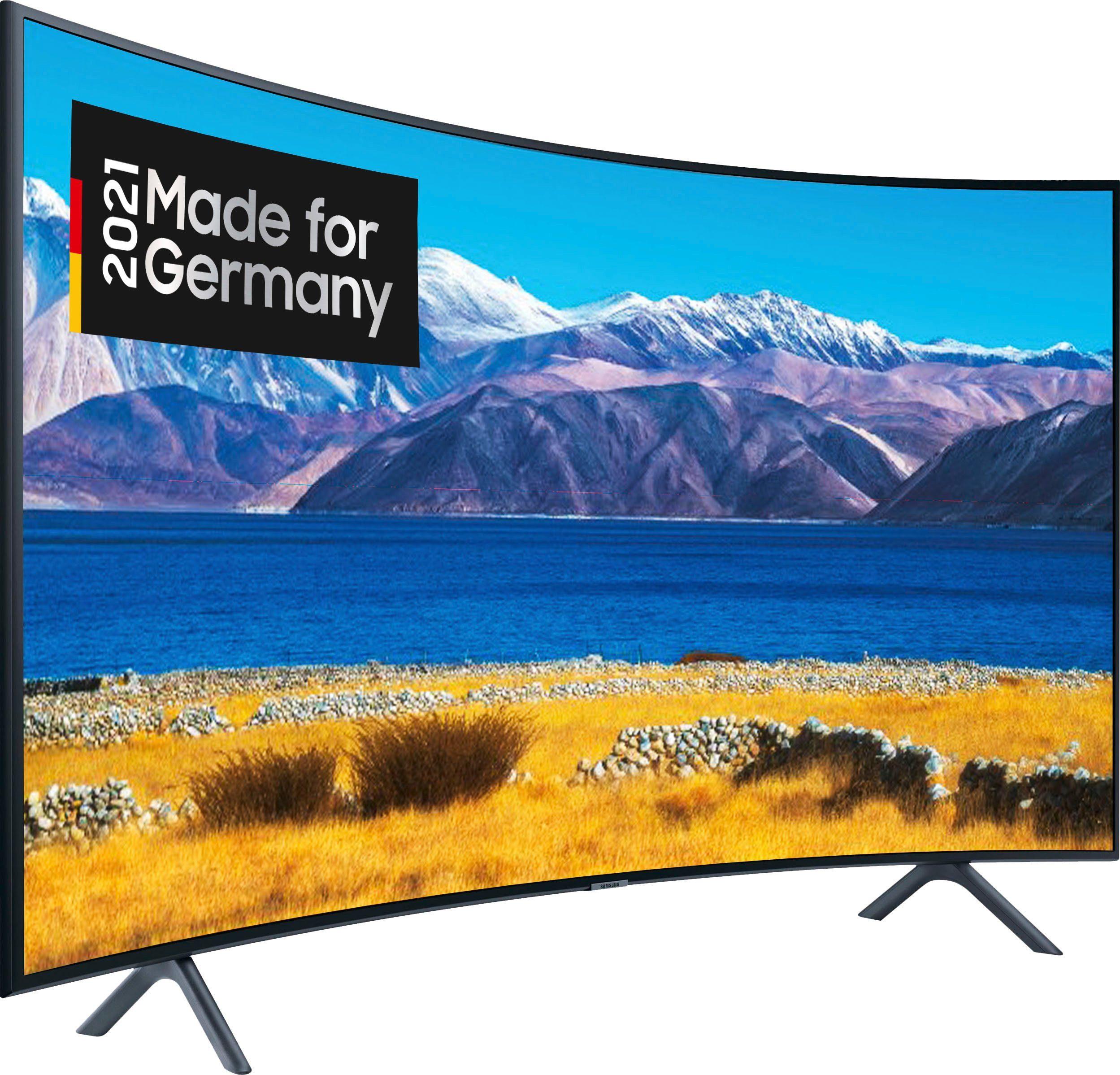 samsung gu65tu8379u curved led fernseher 163 cm 65 zoll 4k ultra hd smart tv hd integriert 6 monate gratis