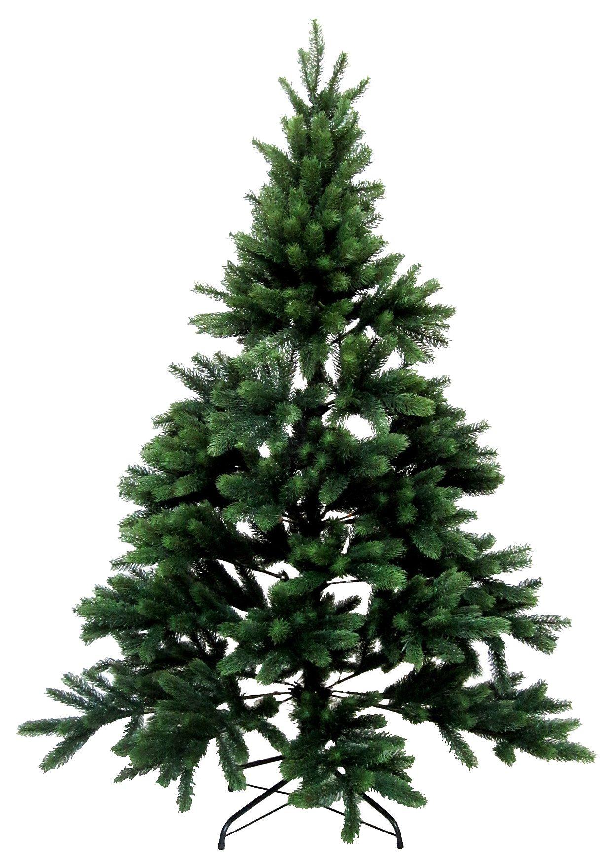 Künstlicher Weihnachtsbaum mit besonders üppigem Nadelkleid