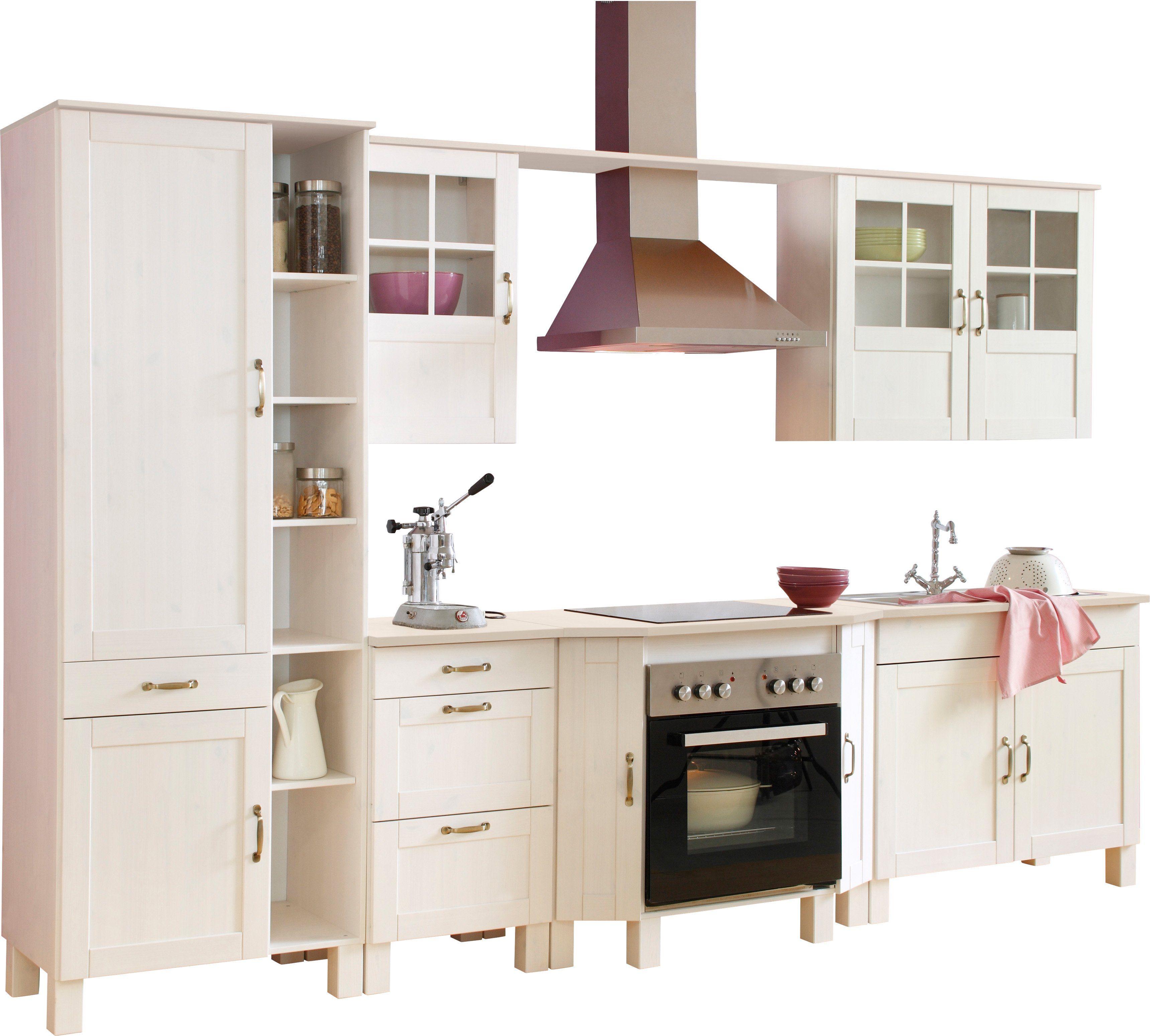 Küchenblock »Alby« Breite 325 cm aus massiver Kiefer ...