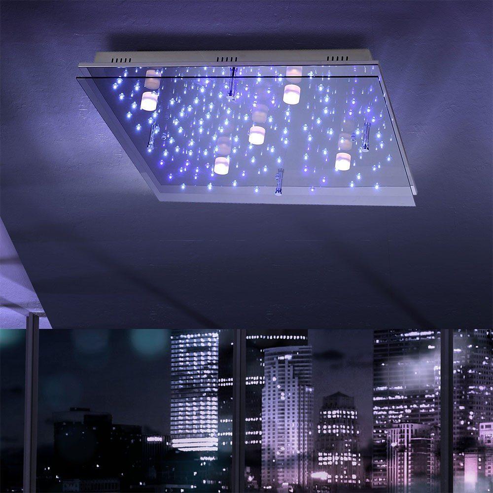 Licht Trend Deckenleuchte »LED Sternenhimmel 65 x 65 cm ...