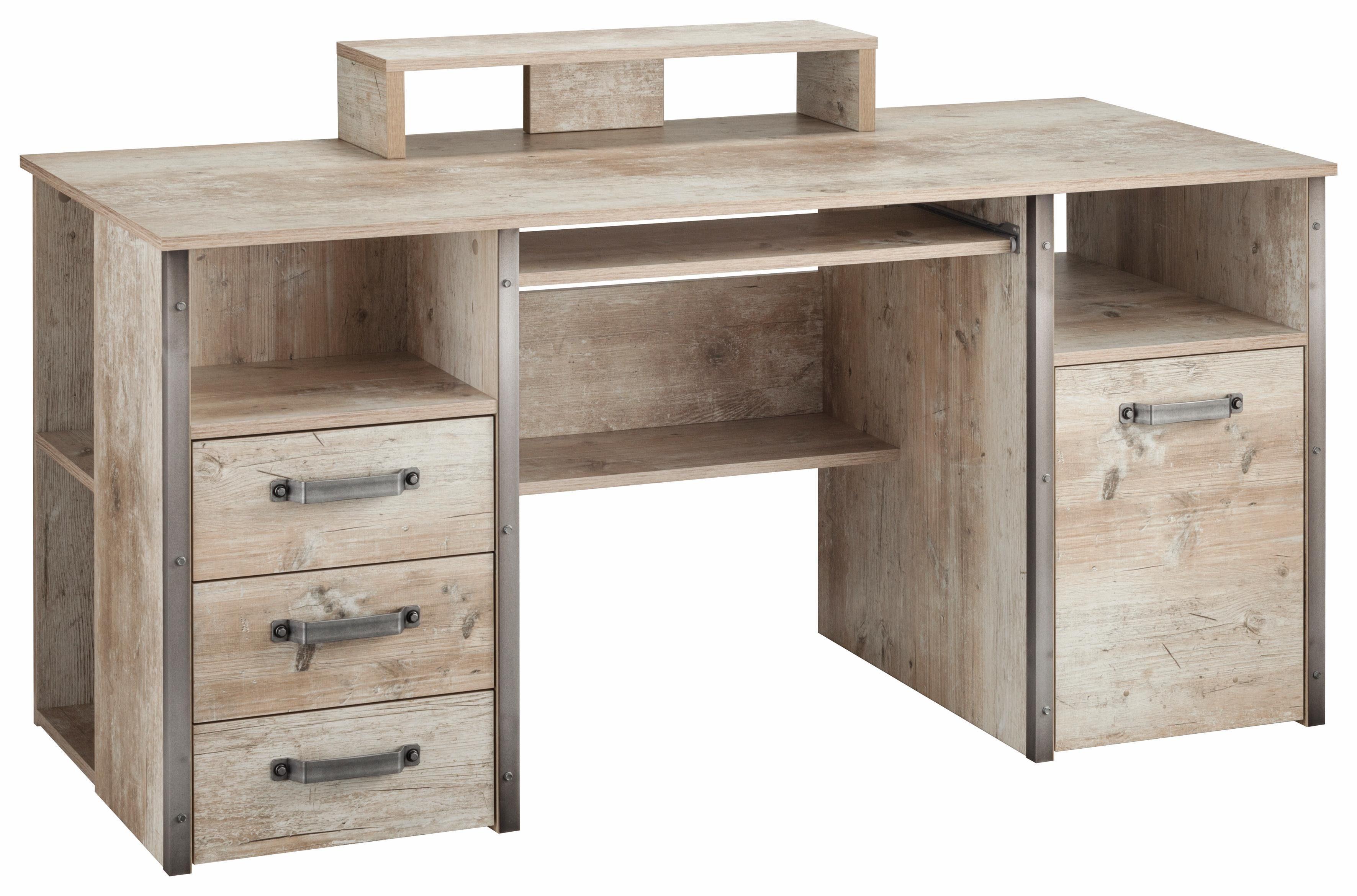 Schildmeyer Schreibtisch »Harkon« mit Griffen und Winkeln ...