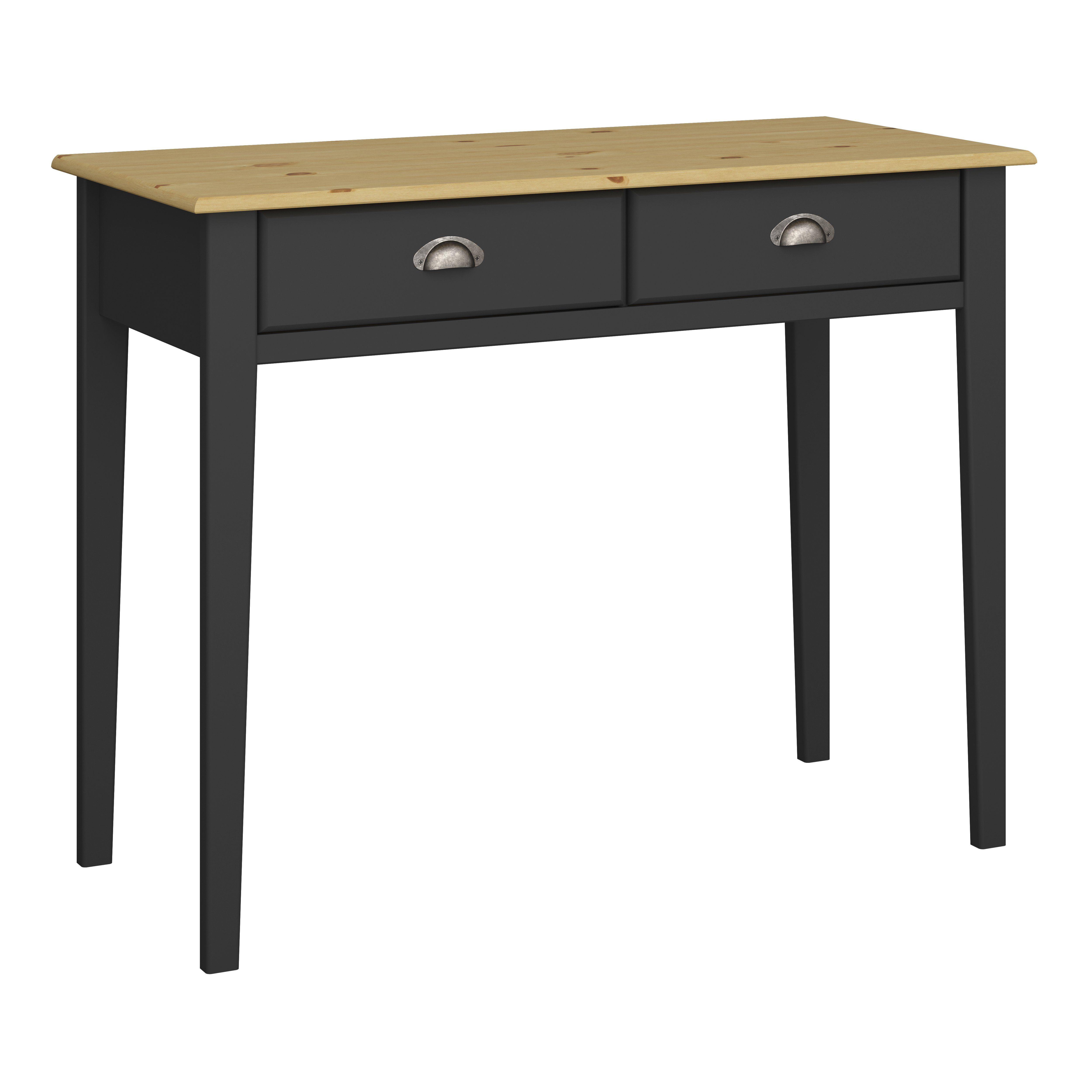 ebuy24 Schreibtisch »Noah Schreibtisch 2 Schubladen ...