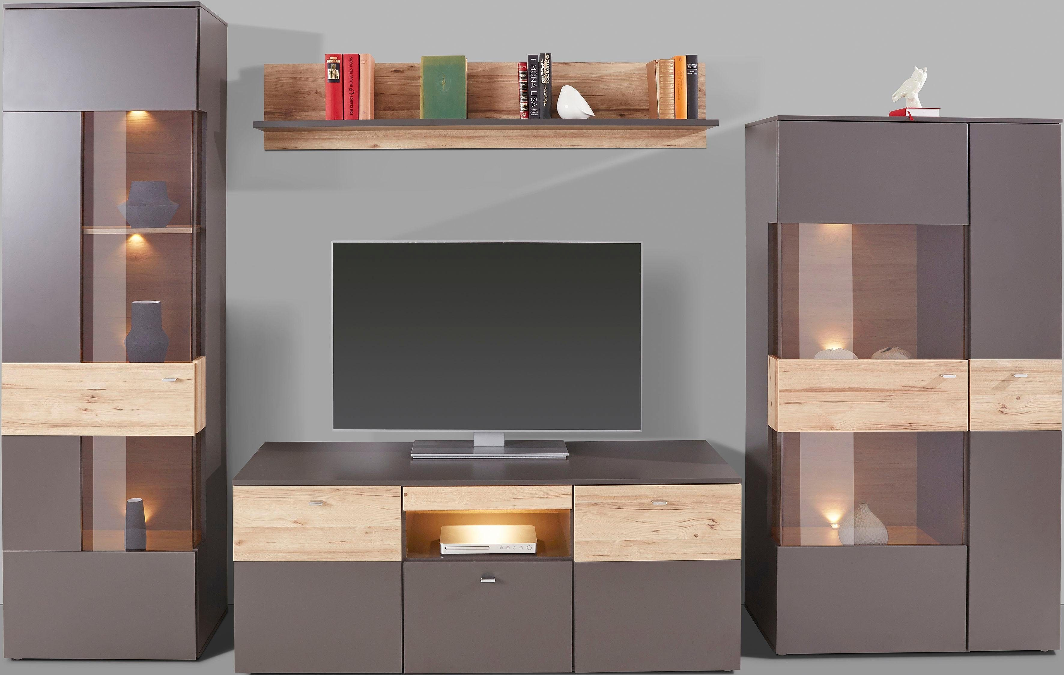 FORTE Wohnwand, Moderne Trendfarben online kaufen   OTTO