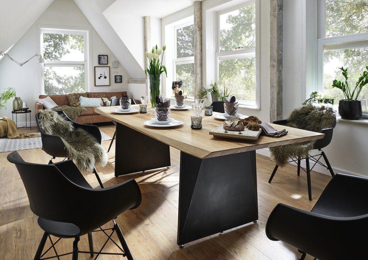 Kasper-Wohndesign Esstisch Wildeiche Massiv Versch. Größen