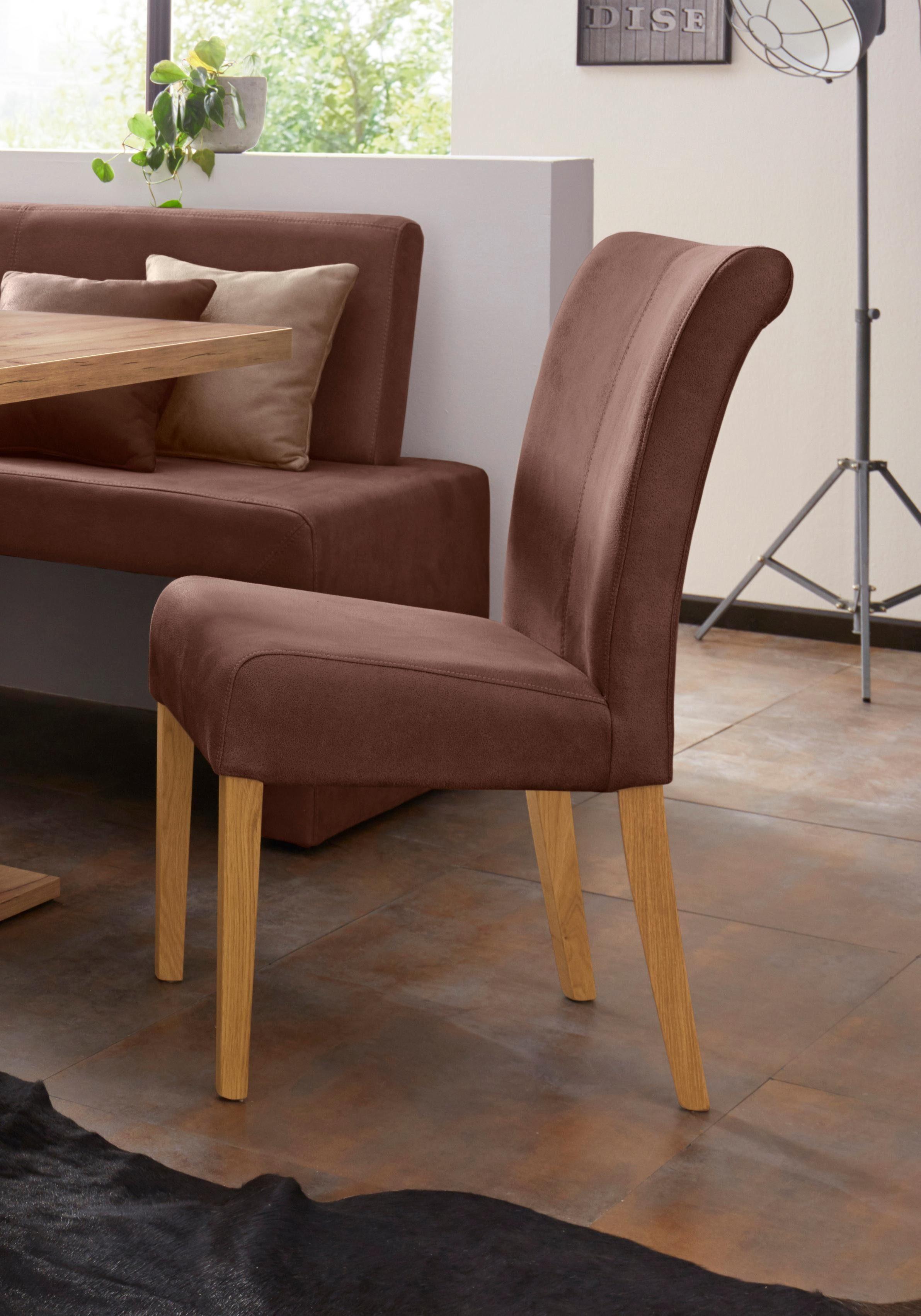 Stuhl »Barcelona«, Gestell aus Massivholz online kaufen   OTTO