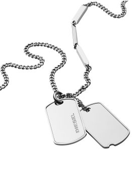 Diesel Kette mit Anhänger »DOUBLE DOGTAGS, DX1173040«