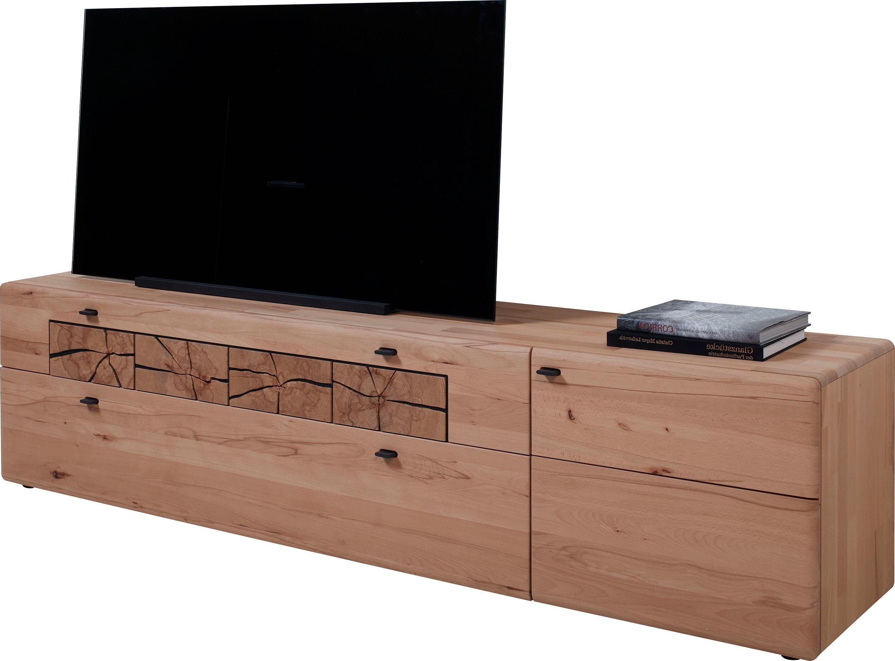 hartmann lowboard kvik modell 3215 3216 breite 212 cm mit 1 tur und 1 doppelschubkasten wahlweise rechts oder links
