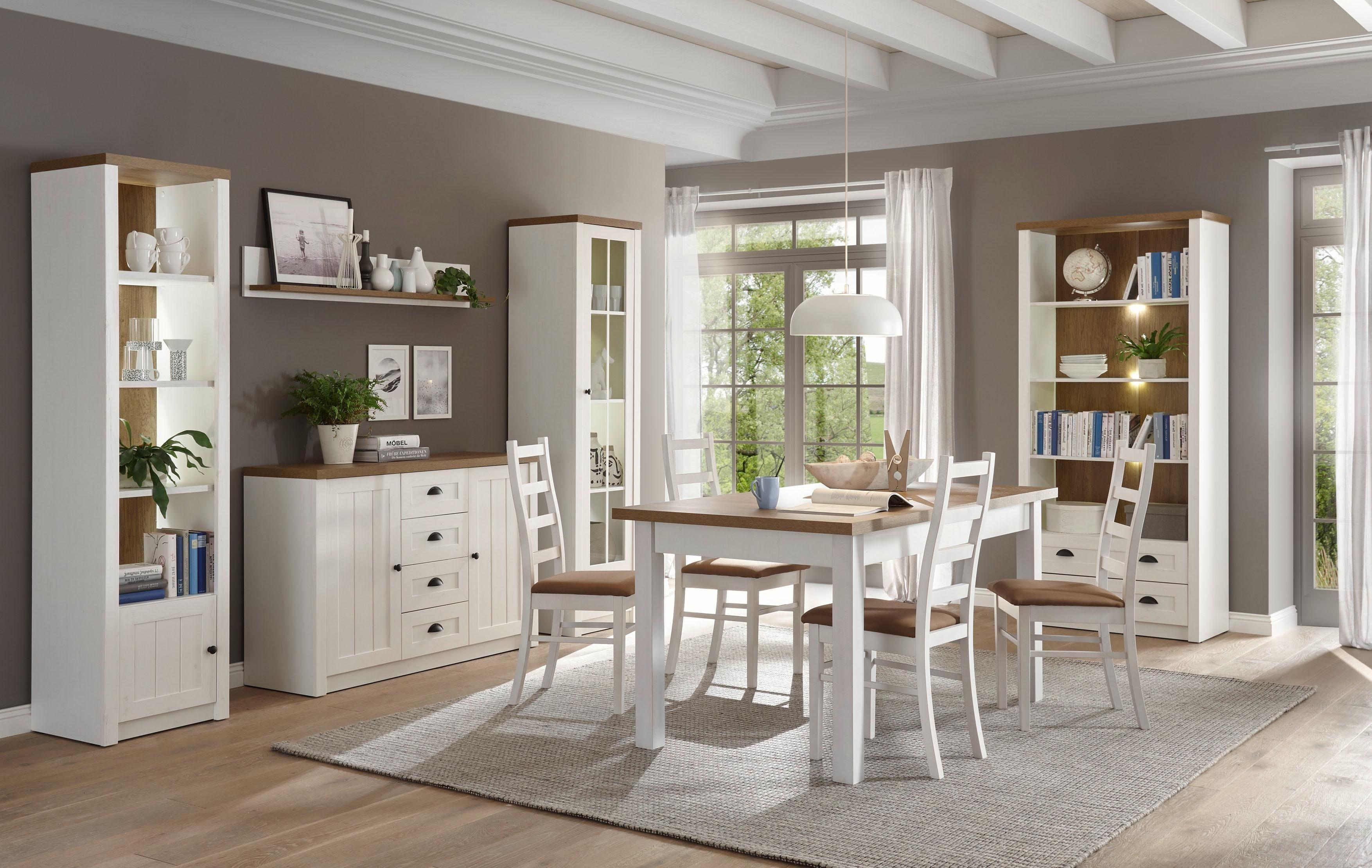 Home affaire Wohnwand »Beauvais«, Set, 4 tlg, im Landhausstil online kaufen   OTTO