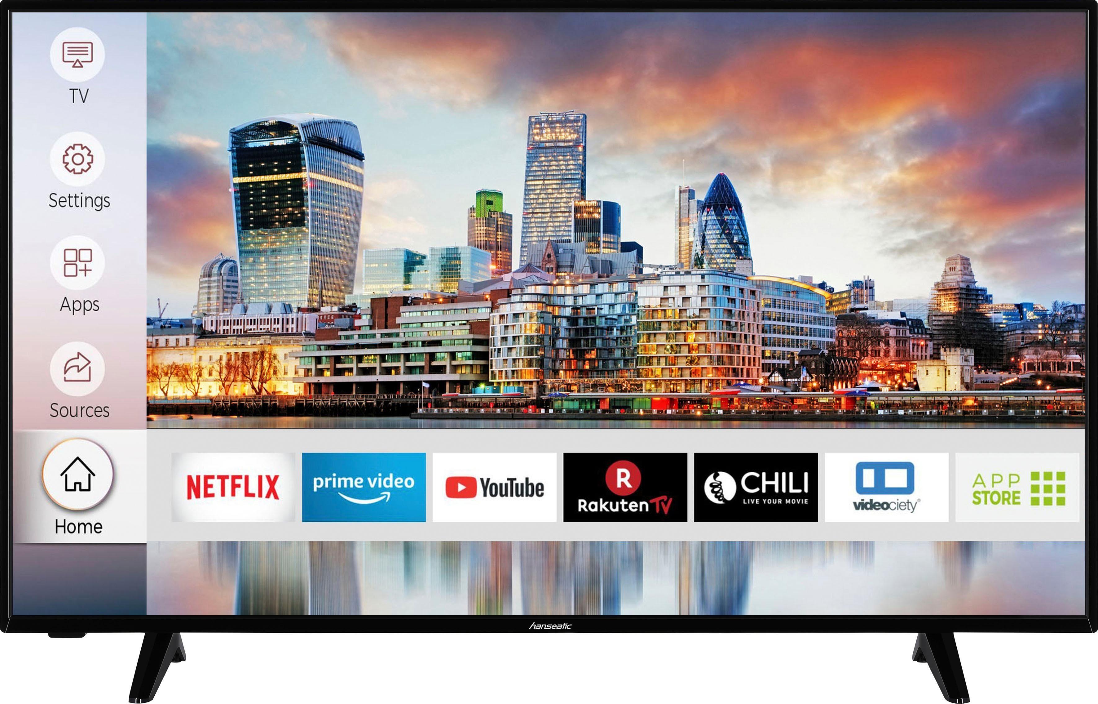 hanseatic 50h600udsi led fernseher 126 cm 50 zoll 4k ultra hd smart tv hdr10 online kaufen otto