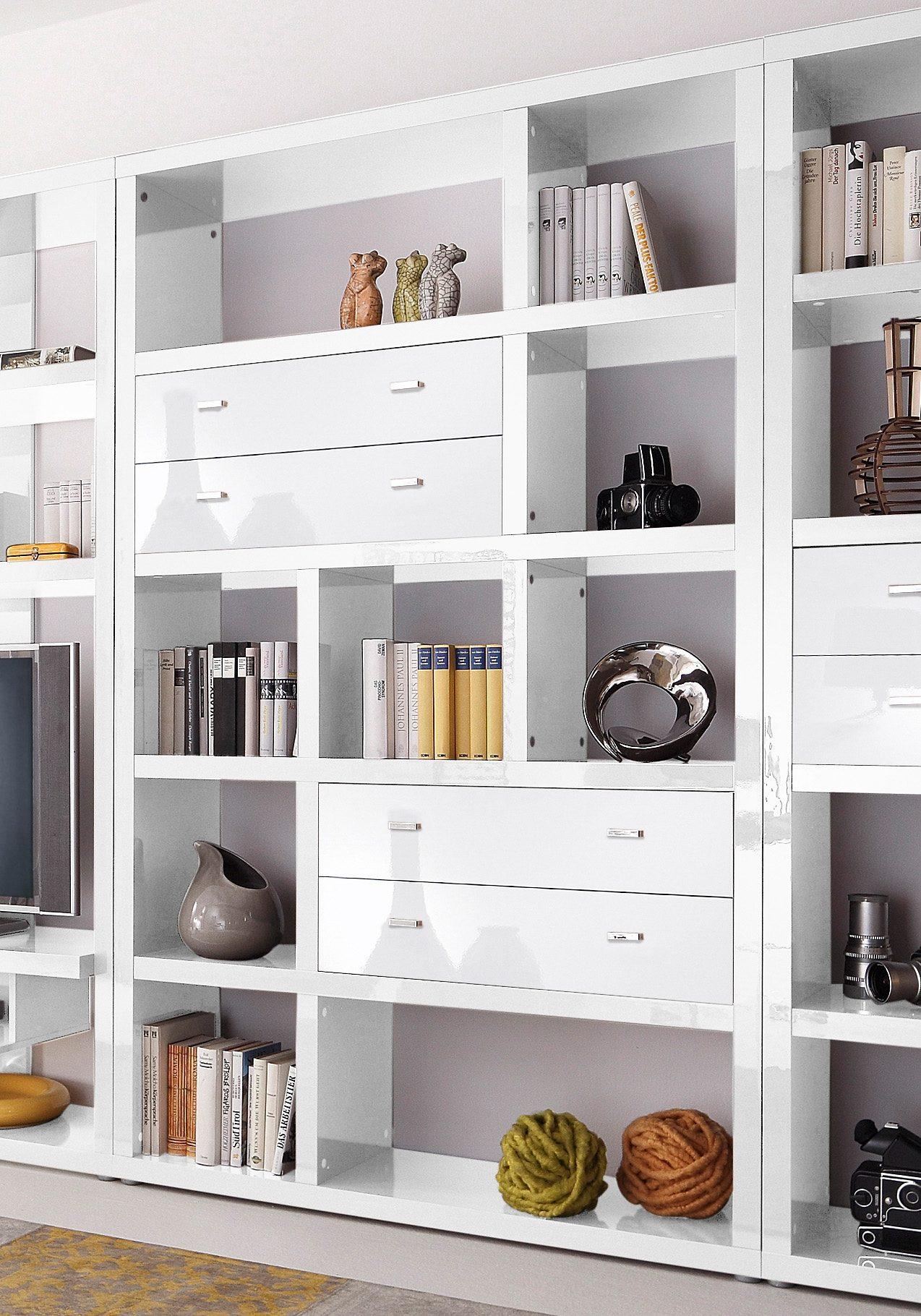 Regal, HMW Möbel, Breite 123 cm online kaufen   OTTO