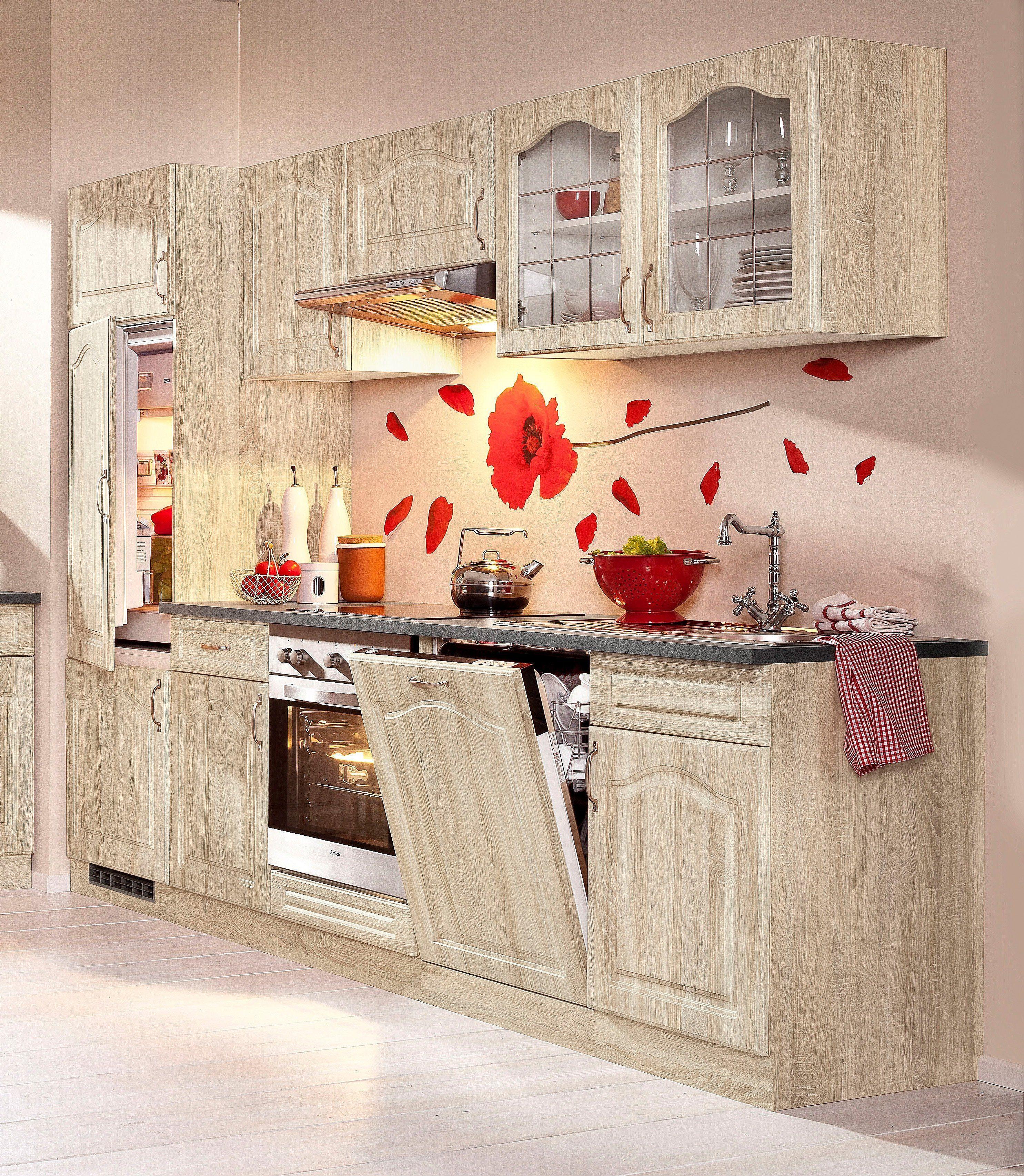 wiho Küchen Küchenzeile »Linz«, ohne E Geräte, Breite 280 ...