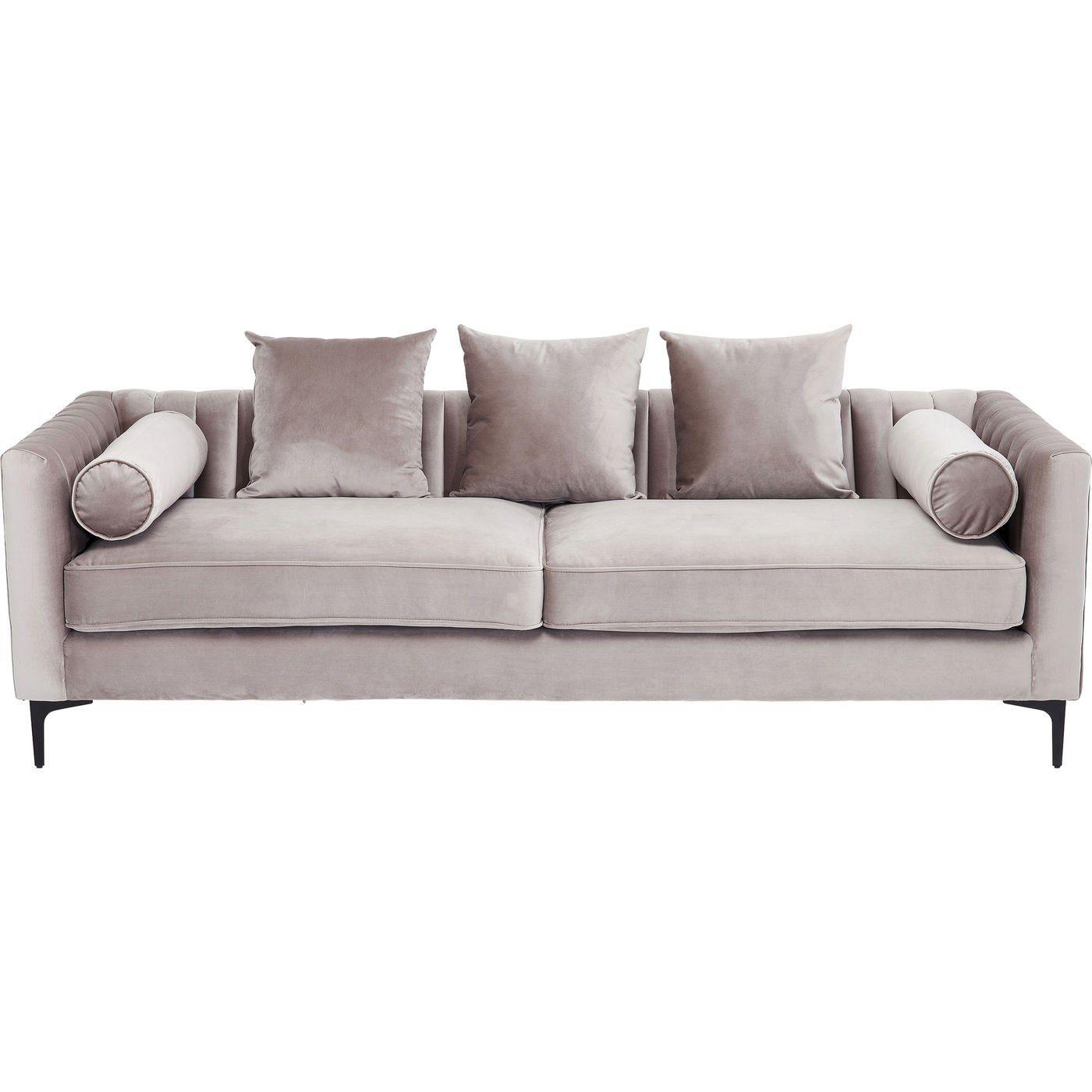 KARE Sofa, Trendy und cosy Designer Sofa mit eleganter ...