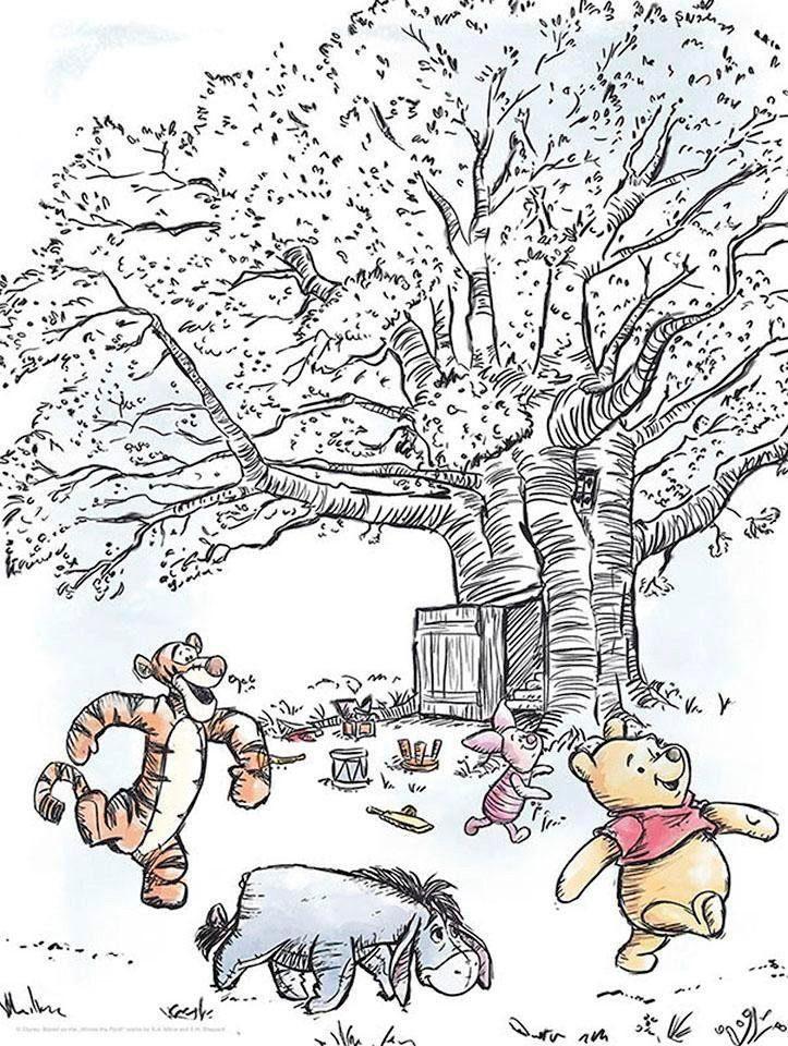 komar poster winnie pooh playground disney hohe 70cm online kaufen otto