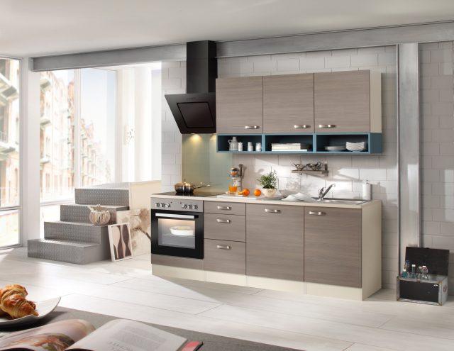 OPTIFIT Küchenzeile mit E-Geräten »Vigo, Breite 210 cm ...