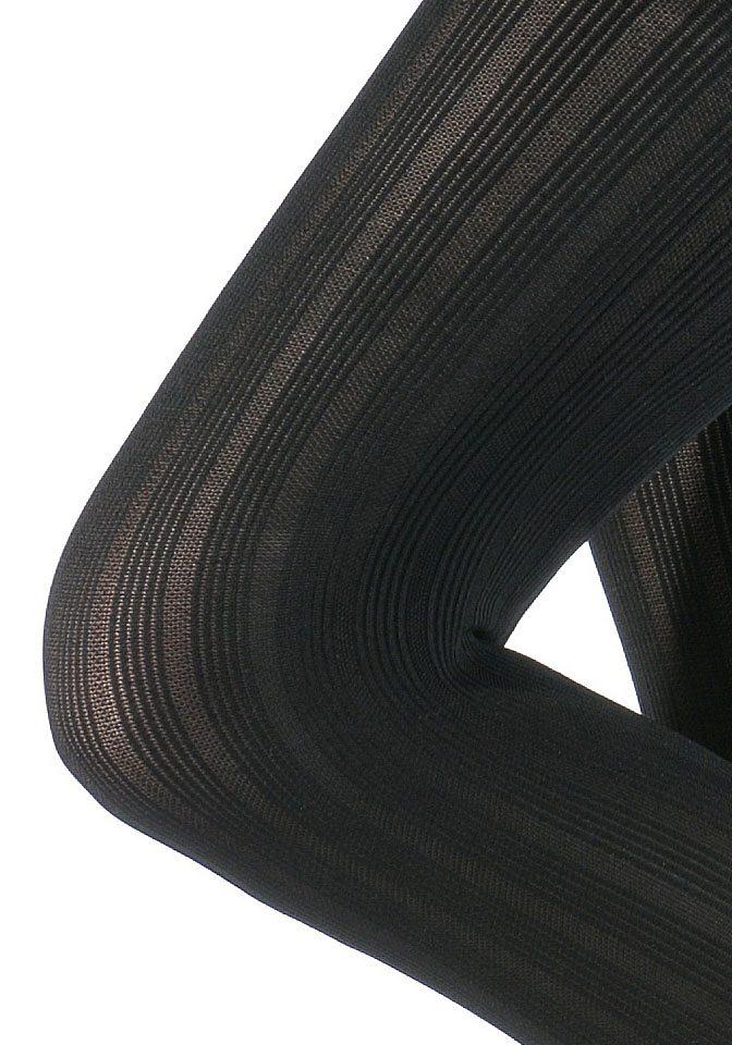 lascana panty 80 denier (set van 2) zwart