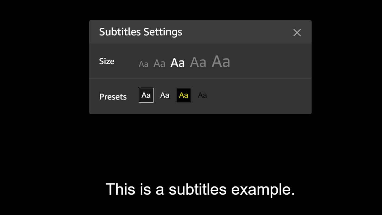examples of caption styles