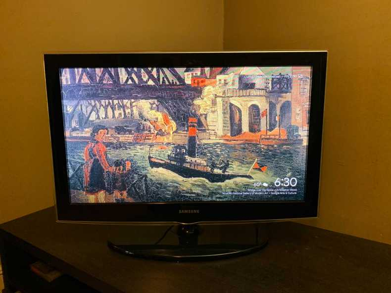 Christopher Wood painting as a Chromecast background