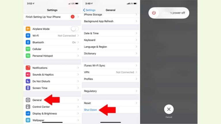 Desactivar en iOS 11 o posterior
