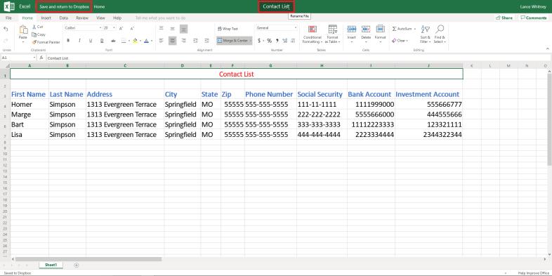 Crear una hoja de cálculo de Excel