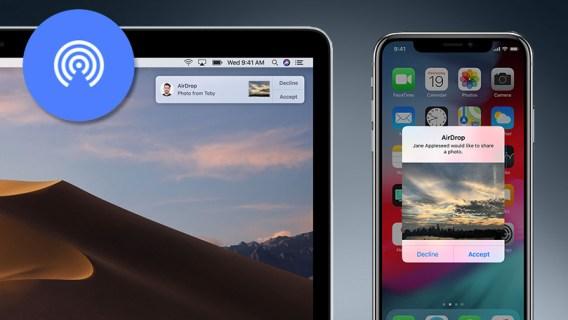 Compartir archivos es lo más sencillo con Apple
