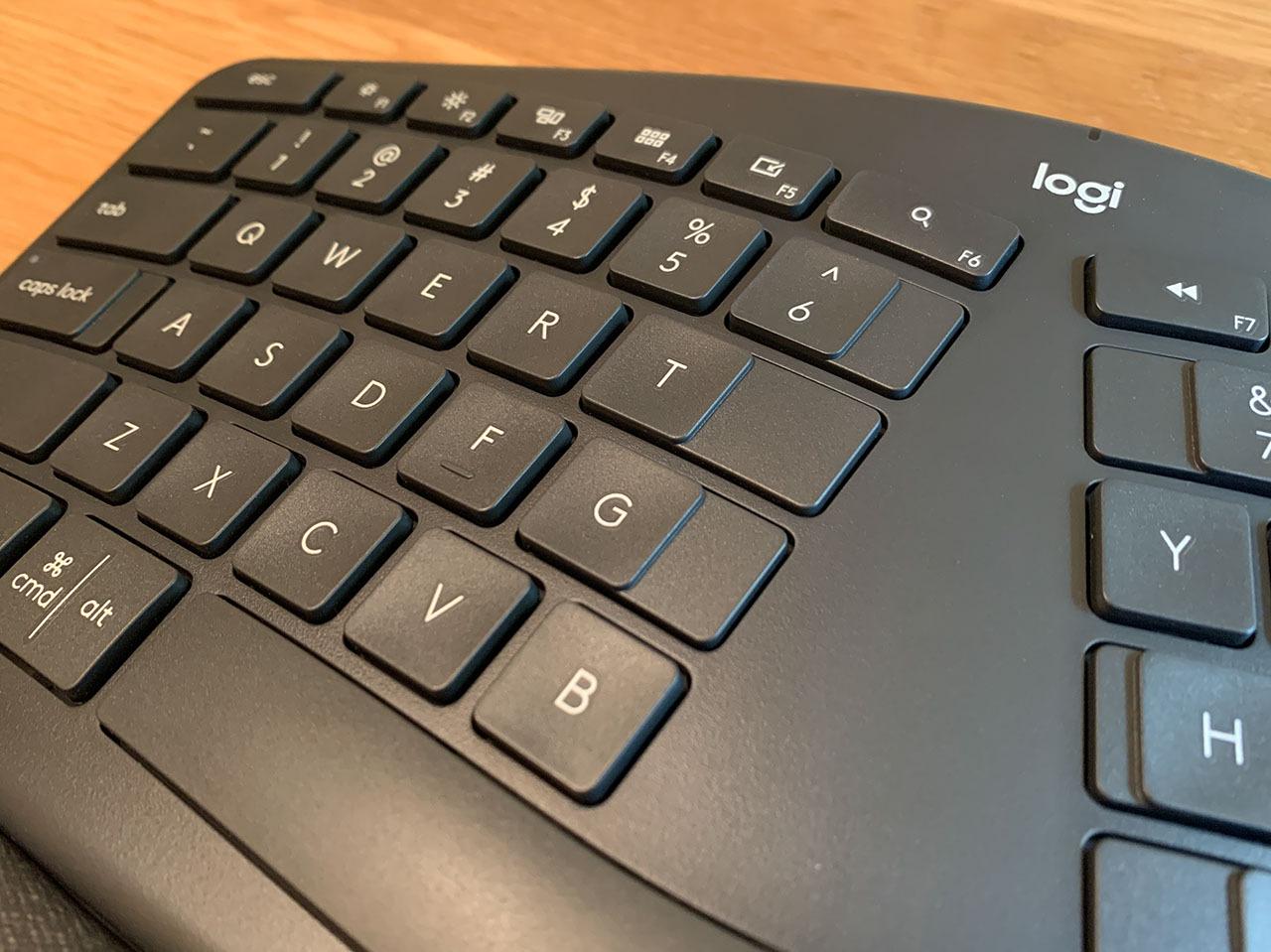 Левая клавиша беспроводной клавиатуры Logitech Ergo K860 Wireless Keyboard