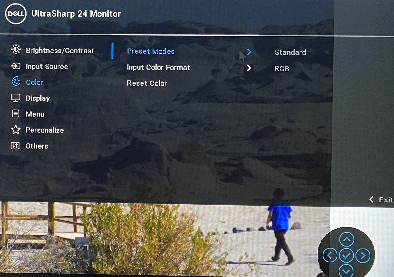 Экранный дисплей Dell UltraSharp 24 с концентратором USB-C (U2421E)