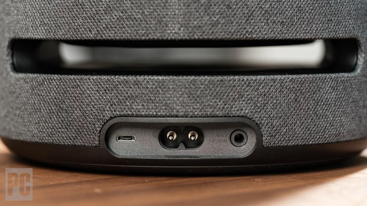 Amazon Echo Studio back ports