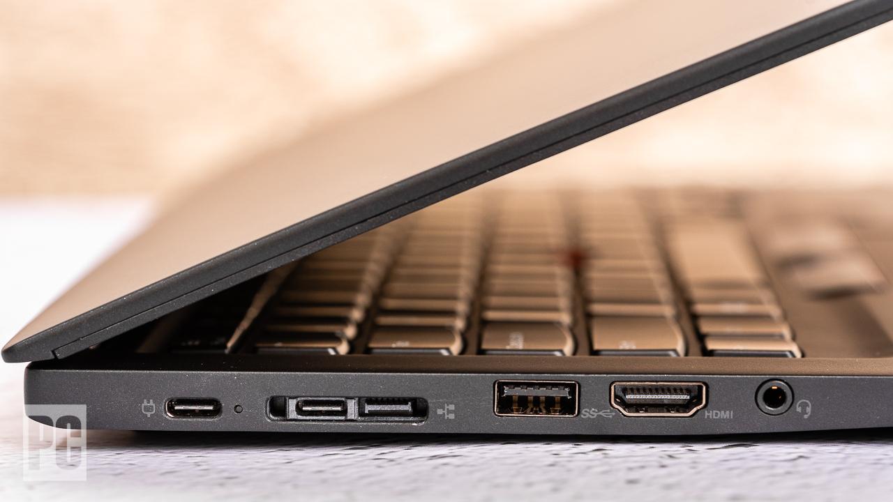 Lenovo ThinkPad T14s (AMD) левые порты