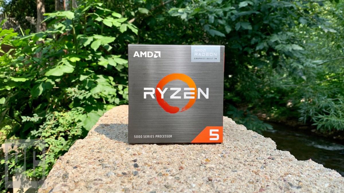 AMD Ryzen 5 5600G Box 1