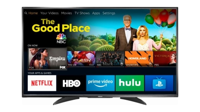 Toshiba 43 Inch Fire Tv Edition 43lf621u19 Review Pcmag