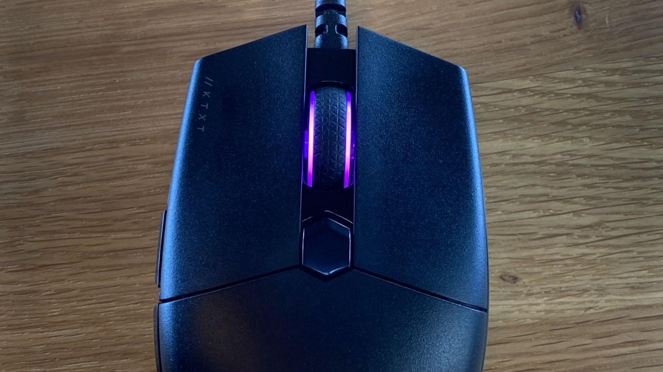 Верхние кнопки игровой мыши Corsair Katar Pro XT