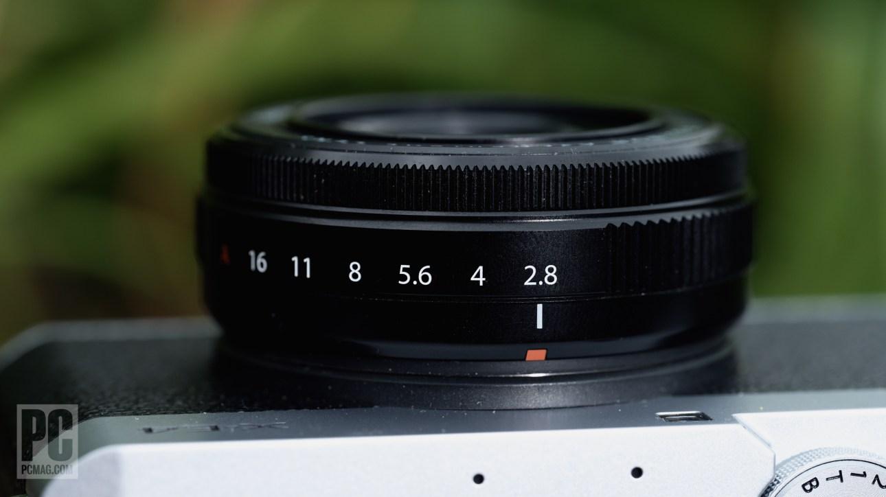 Fujifilm Fujinon XF 27 мм F2.8 R WR