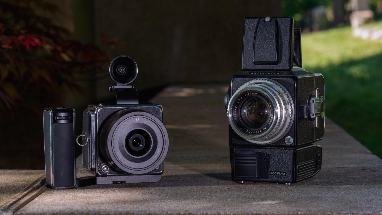 Hasselblad 907X и 500EL / M