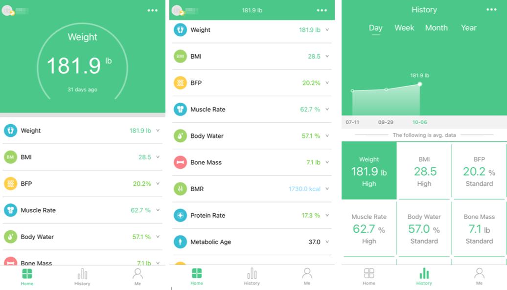 Скриншоты приложения FitTrack Pro