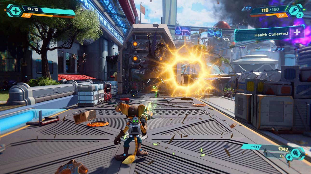 Ratchet & Clank: Rift Apart оружие