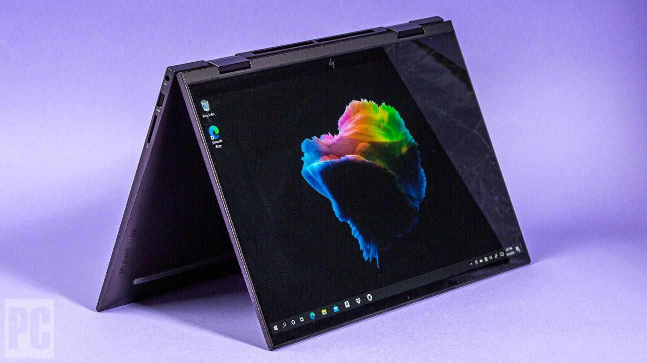 HP Envy x360 15 (2021) режим палатки