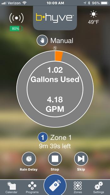 orbit b hyve smart hose faucet timer with wi fi hub