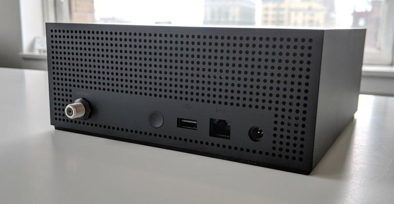 Amazon Fire TV Recast back ports