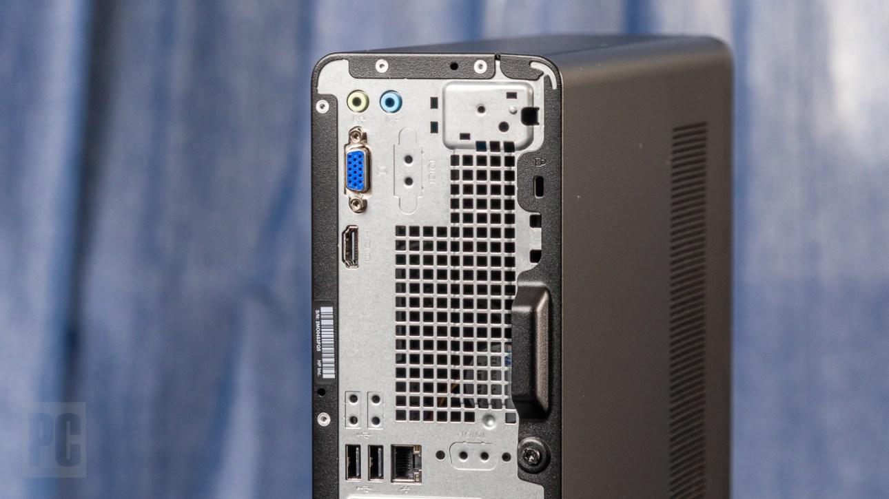 Порты HP Slim Desktop на задней панели