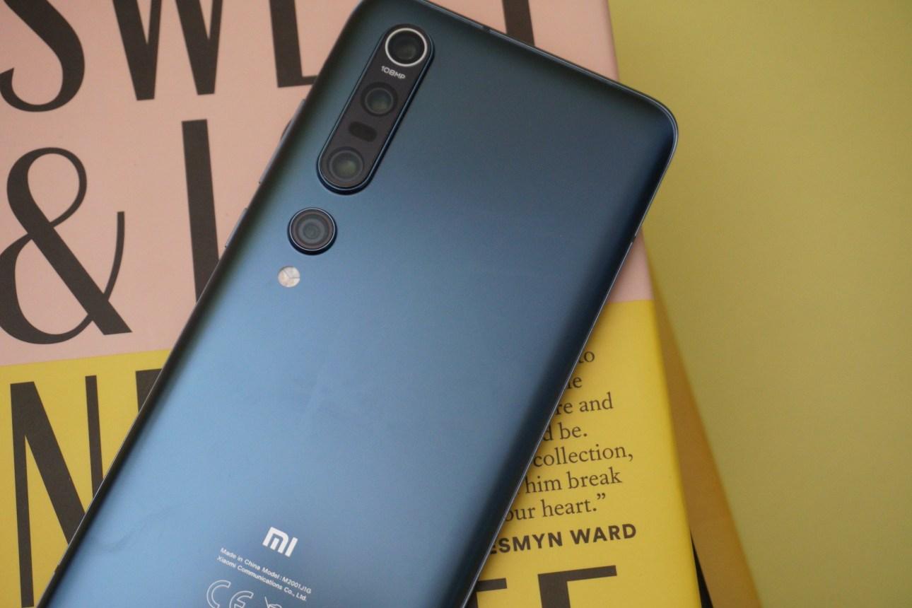 Стек камеры заднего вида Xiaomi Mi 10 Pro 5G