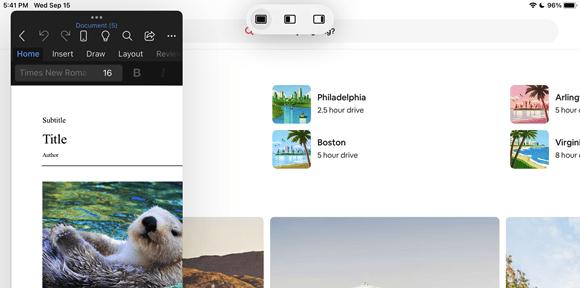 Multitasking in iPadOS