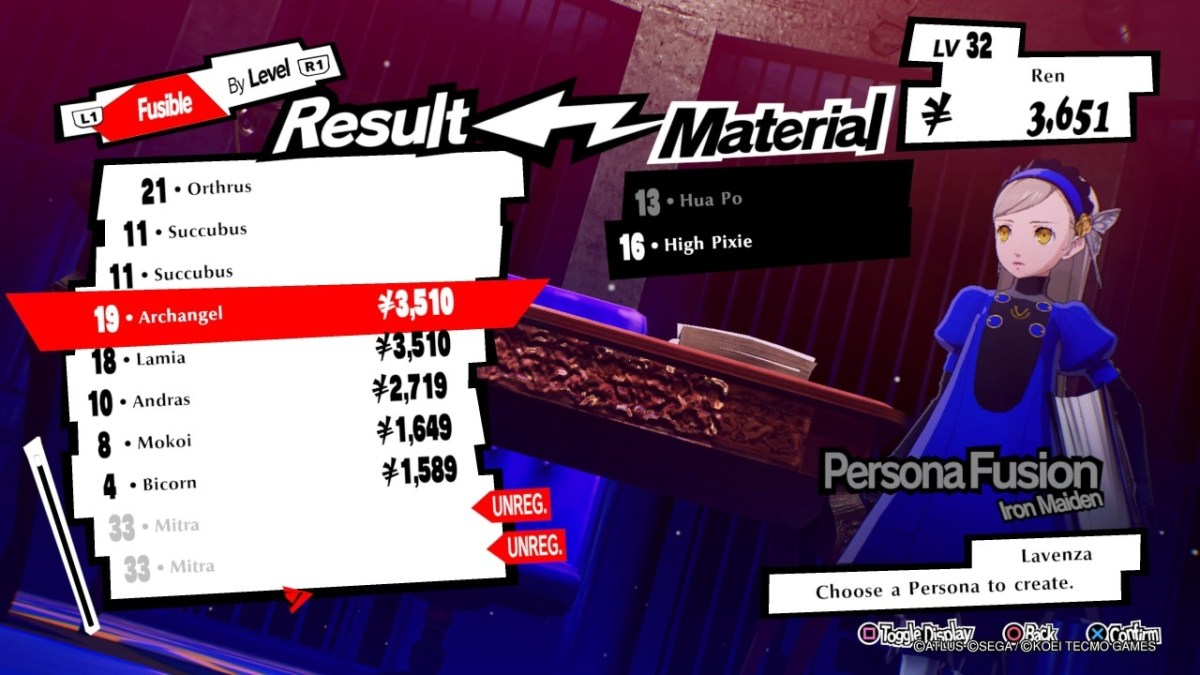 Persona 5 Strikers results