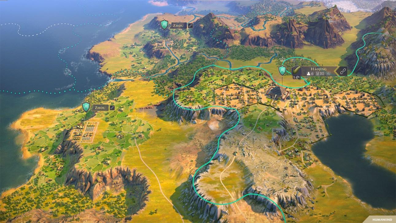 Карта человечества