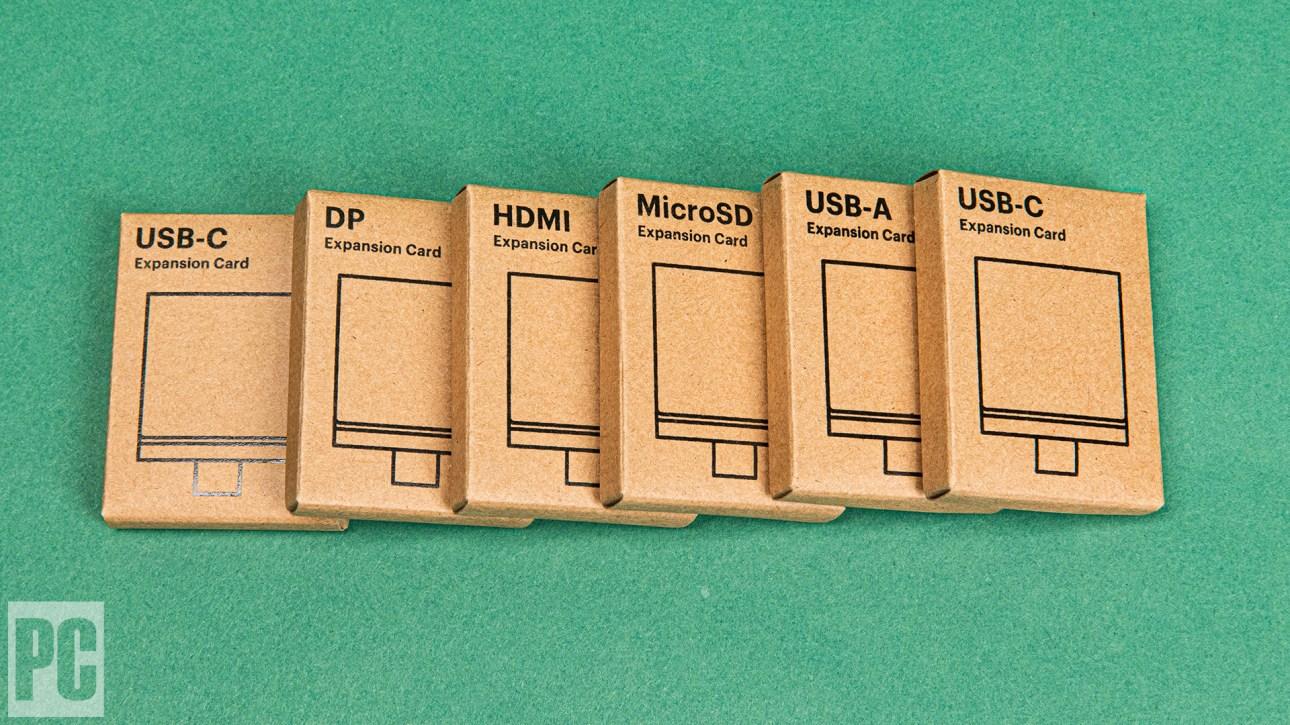 Модульные коробки для ноутбуков Framework