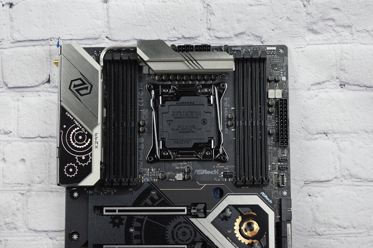 Процессорный разъем Asrock X299 Taichi CLX