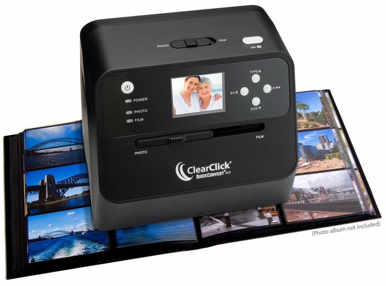 ClearClick QuickConvert 2.0 сканирование фотокниги