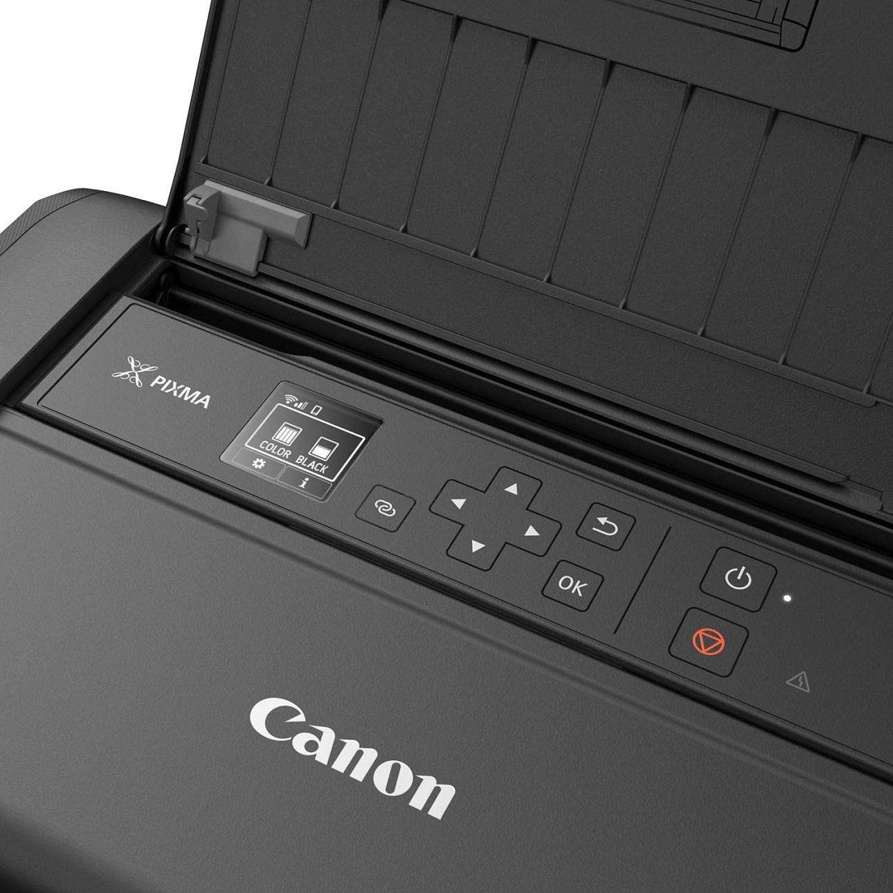 Панель управления Canon Pixma TR150
